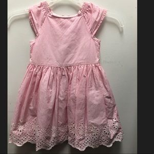Beautiful carters 24M dress color pink /white